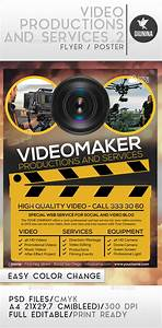 Video Production And Services 2 Flyer/Poster by Giunina
