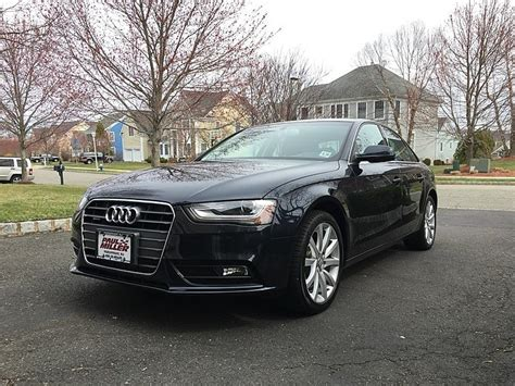Audi A4 Fs In Nj [manual] 2013 Audi A4 Quattro Premium