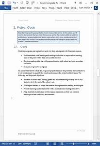 Online Cover Letter Template Grant Proposal Template Ms Word Excel Templates Forms