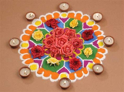 diwali rangoli designs    unique flower rangoli