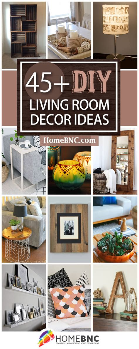 Decorating Ideas For Living Room Cheap by 45 Best Diy Living Room Decorating Ideas And Designs For 2019