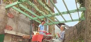 Fabriquer Pergola Bois : fabriquer une pergola en bois d montable ~ Preciouscoupons.com Idées de Décoration