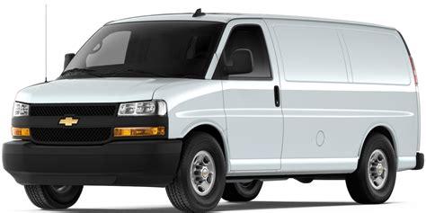 2019 Chevy Express Cargo Van Work Van