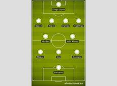 Las alineaciones y bajas del Real Madrid Atlético de