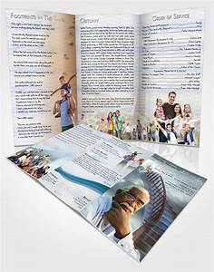 obituary template trifold brochure stairway to heaven With obituary pamphlet template