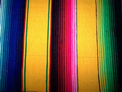 Green Throw Rug by Hammock Heaven Yellow Mexican Blankets Large