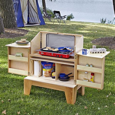 Camp Kitchen Woodworking Plan From Wood Magazine