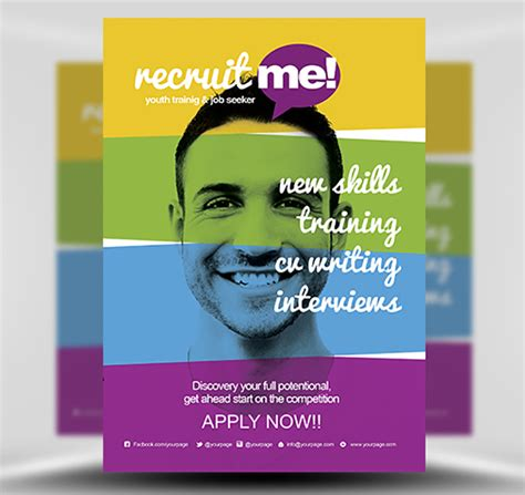 Recruiting Brochure Template by Creative Recruitment Flyer Template Flyerheroes