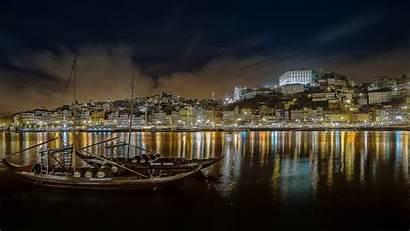 Portugal Desktop Calm Night Oporto Mobile Phones