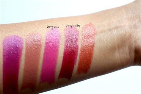 gucci begonia purpurite luxurious moisture lipstick review swatch