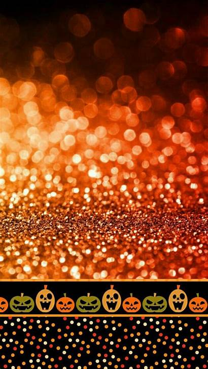 Halloween Iphone Pumpkin Backgrounds Wallpapers Orange Phone