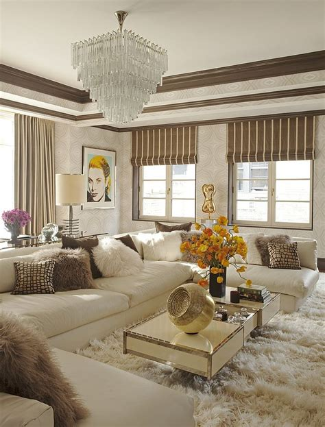 The Most Glam Living Room Livinginstyle  A Interior Design