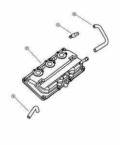 Chrysler Lhs Valve  Pcv  Engine  Ventilation  Crankcase