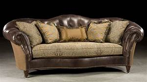 Große Sofas : half leather half fabric sofa 12 best cabin inspiration ~ Pilothousefishingboats.com Haus und Dekorationen