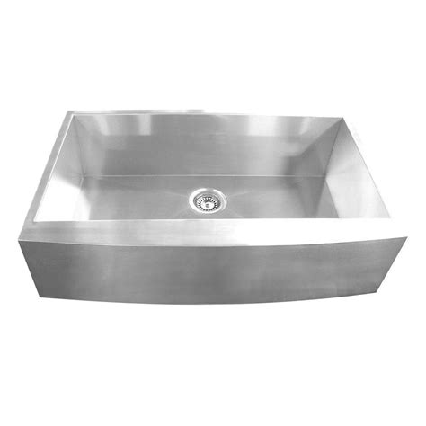 apron front stainless steel kitchen sink y decor hardy undermount apron front stainless steel 32 in 9037