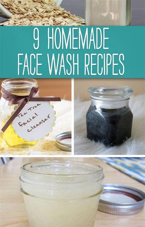 homemade face wash recipes fashion daily