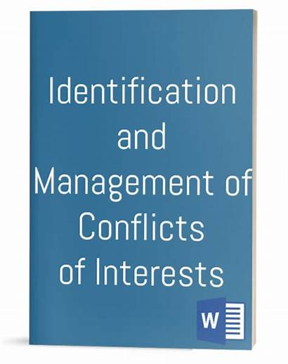 Interests Identification Conflicts Policy Management Template Procedure