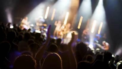 Concert Crowd Background Wallpapers Desktop Stage June