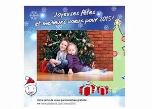 Carte De Voeux Gratuite A Imprimer Personnalisé : carte voeux personnalis e photo gratuite id es cadeaux ~ Louise-bijoux.com Idées de Décoration