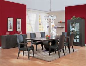 Contemporary dining room decorating ideas home designs for Modern dining room decorating ideas