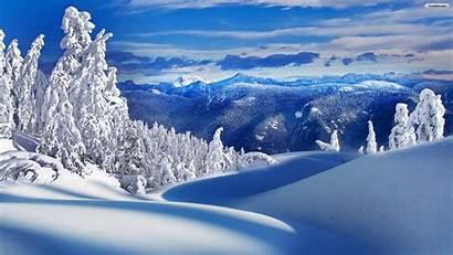 Winter Landscape Desktop Background Snow Landscapes Backgrounds