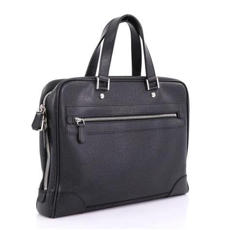 louis vuitton igor briefcase taiga leather  stdibs