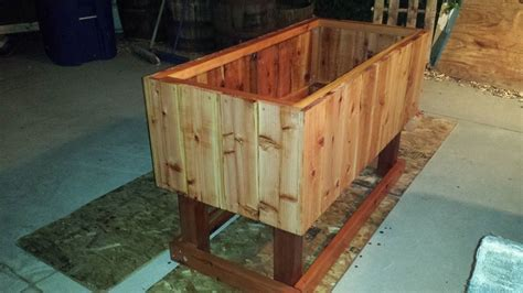 redwood raised garden beds different types of redwood planters curtis custom planters