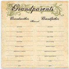 Family Tree Template Pedigree Chart Insssrenterprisesco This Printable Baptismal Certificate Has A Classic Look
