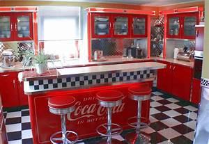 American Diner Einrichtung : amerikanische k chen retro k che nostalgie k chenm bel ~ Sanjose-hotels-ca.com Haus und Dekorationen