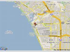 Map of Oakwood Worldwide Archstone Playa Del Rey, Playa