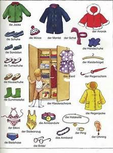 Wortschatz Die Kleidung Wortschatz Deutsche Vokabeln