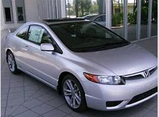 New 2008 Honda Civic Si Coupe for Sale Stock #8H704922