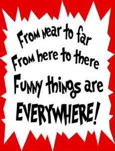 Dr. Seuss Quote Poster   Freeology