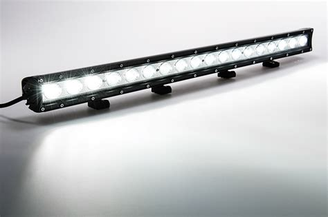 30 quot road led light bar 90w 7 200 lumens eclipse