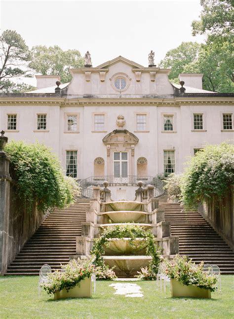 swan house wedding atlanta history center ten point