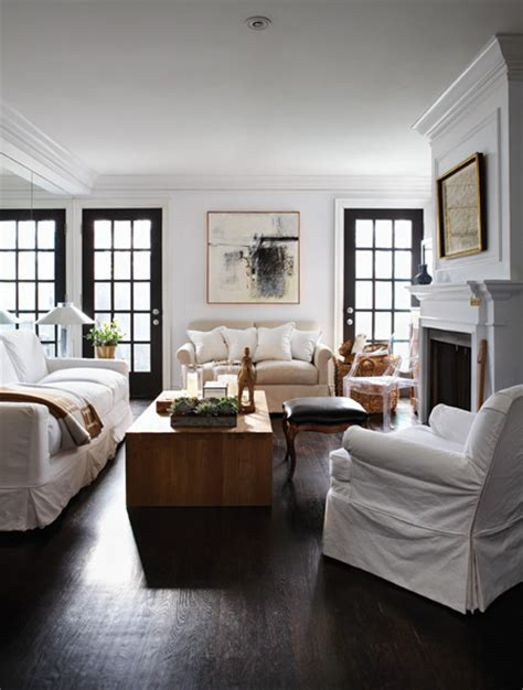 black window frames   chic  english room