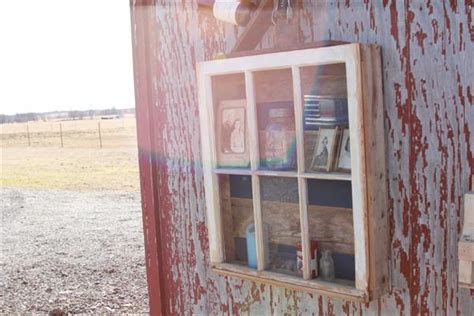 diy reclaimed window  pallet wood display pallet