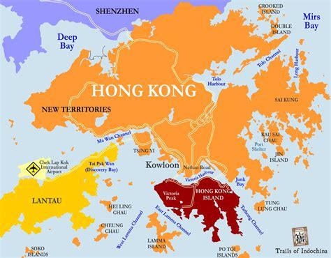 map  hong kong china