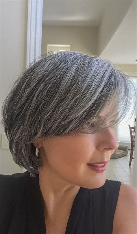 hairstyles   gray fade haircut