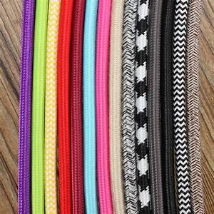5m 2 Cord 0 75cm Colorful Vintage Retro Twist Braided
