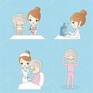 Im U00e1genes  Enfermera Paciente Dibujo