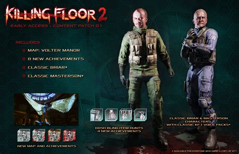 killing floor 2 all characters image gallery killing floor 2 characters