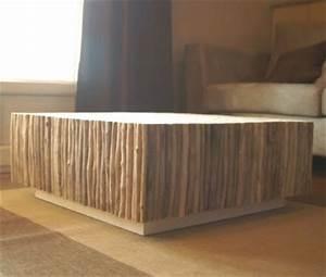 Table Basse En Bois Flotté : les plus belles tables basses part 2 le blog de loftboutik ~ Teatrodelosmanantiales.com Idées de Décoration