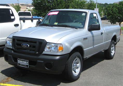 file 2009 ford ranger xlt regular cab jpg wikimedia commons