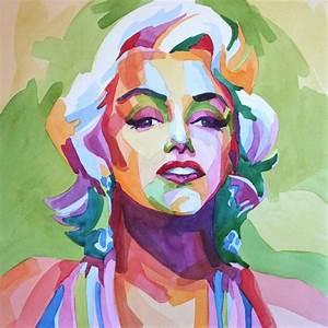 Marilyn Monroe Maße : portrait of marilyn monroe by en masse on stars portraits 1 ~ Orissabook.com Haus und Dekorationen