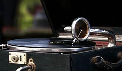 Gramophone Vinyl Spinning Gifs Record Fi Player