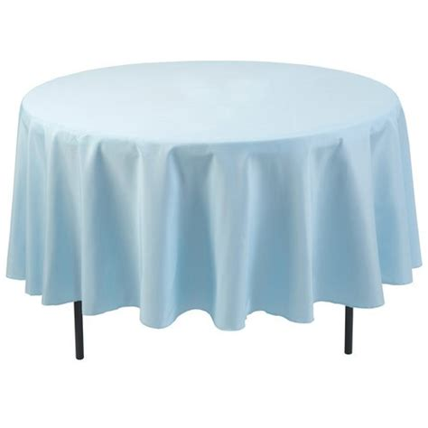 Light Blue Tablecloth by Polyester Tablecloth Light Blue Walmart