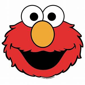 free printable elmo face template clipart best With elmo cut out template