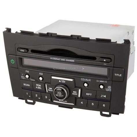 Crv Radio Code by 2011 Honda Crv Radio Or Cd Player Am Fm Xm Aux Mp3 6cd