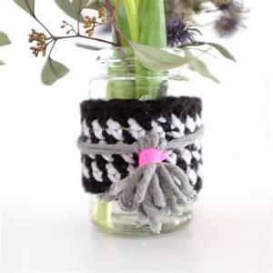 Deko Vasen Mit Blumen : do it yourself blumen vasen dekoration aus wolle sophiagaleria ~ Markanthonyermac.com Haus und Dekorationen